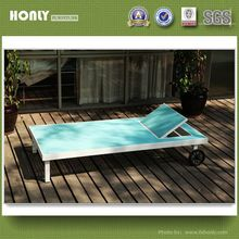KD sling daybed with wheels unique design of the outdoor pool bed
