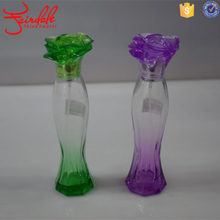 35ml fish body shape Perfume Glass Bottle with Flower Sarin cap