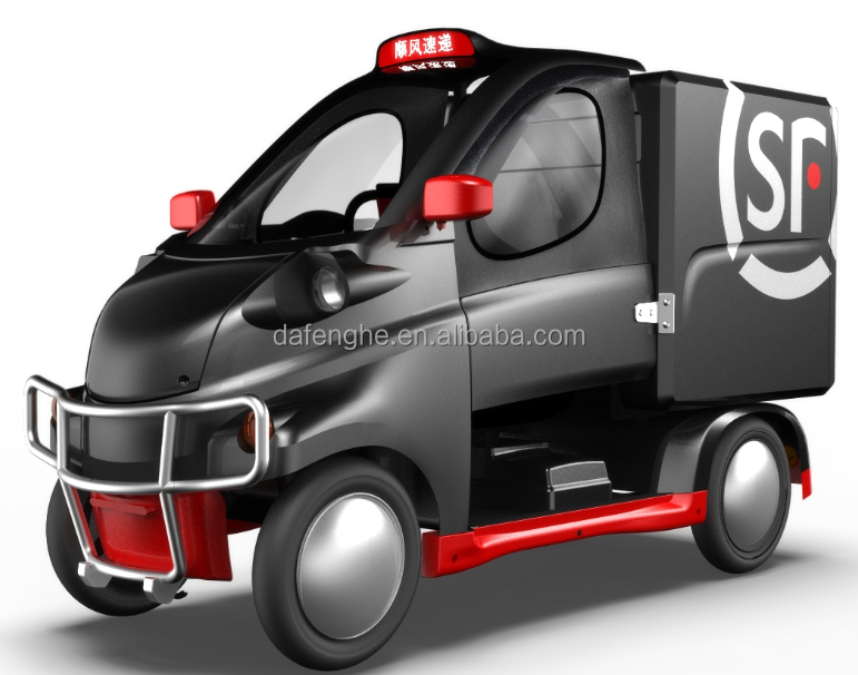 China manufacturer electric delivery van CE approved