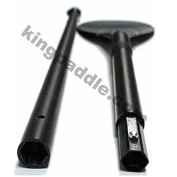 Carbon Fiber 3 Piece Sup Paddle For Inflatable Stand Up Paddle Board