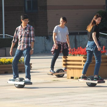 High Power One Wheel Electric Skateboard with LED Light at a cheap wholesale price