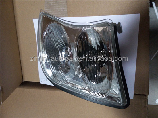 Auto Part ABS Plastic White Glass Halogen Head Light For PATROL 2002