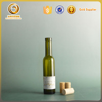 200ml mini colored glass wine bottles