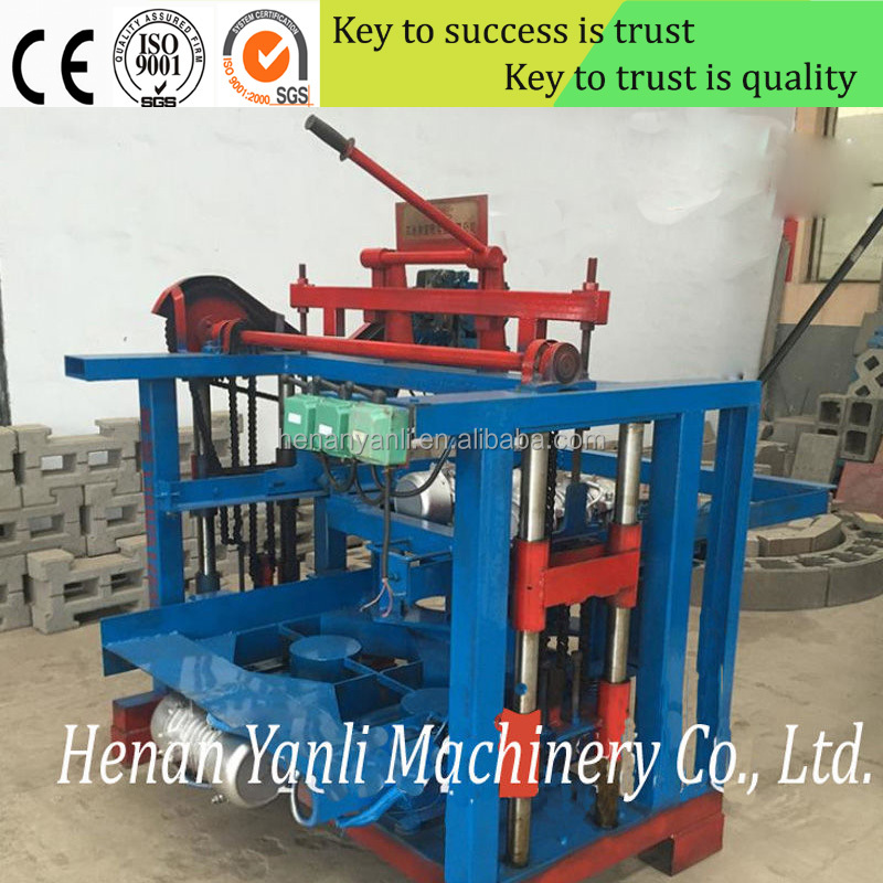 YL4-35 new industrial project price in india brick block machine