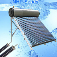 JNQG compact vacuum tube solar water heater for home and hotel use