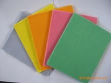 hot sale pink ,blue cleaning cloth ,dish cloth