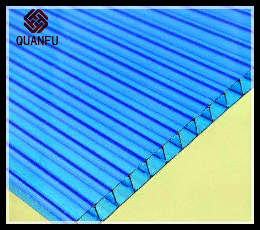10 years quality Clear Polycarbonate PC Corrugated GRECA wall and roofing Sheet