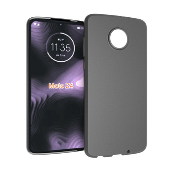 Matte tpu soft case for Moto Z4 back cover