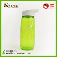 Tritan sipper water bottle plastic water bottles BPA FREE 600ml 800ml with cap and straw SGS certification
