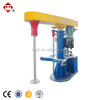 Industrial Hydraulic Paint Dissolver Mixer