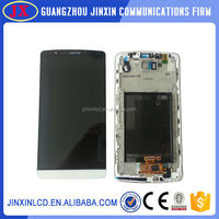 Mobile phone repair parts Replacement LCD and digitizer assembly for LG G3 with frame