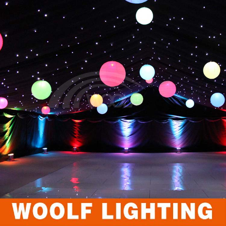 hot selling bright colored led ball glow in the dark