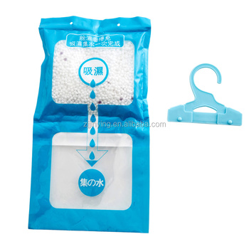 Household Chemicals Closet Dehumidifier Bag Moisture Absorber Hanging Bag