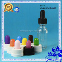 empty clear 15ml glass bottles with screw caps for eliquid/ejuice/e-cigarette