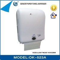 Hotel use Jumbo/Big Roll Sensor/Hand Free Electronic/Automatic Paper Towel Dispenser, OK-523A