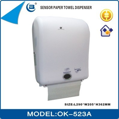 OK-523A Hotel use Jumbo/Big Roll Sensor/Hand Free Electronic/Automatic Paper Towel Dispenser