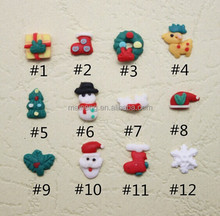manicure nail designs fimo clay christmas nail art decoration