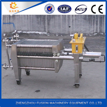 Stainless steel small filter press