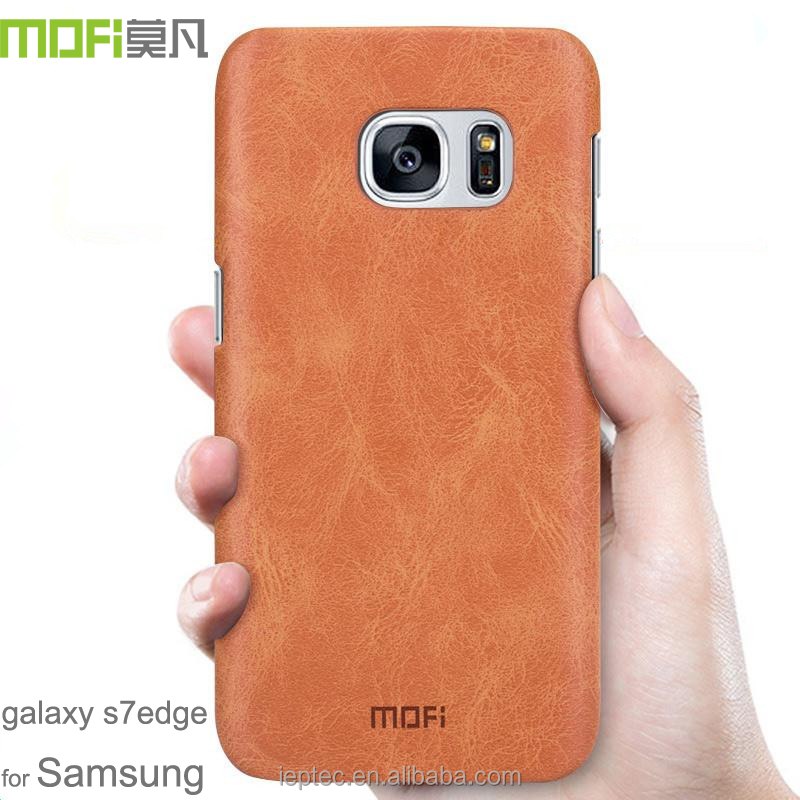 MOFi Original Celulares Housing for Samsung Galaxy s7 Edge G9350, Mobile Phone Leather Case for Samsung s7 Edge Back Cover