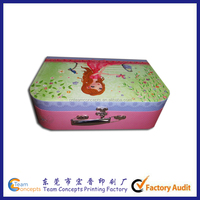 Chinese Supplier Paper Sexy Girl Suitcase Box