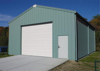 Economical Prefab Kiosk steel structure shed for sale