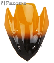 Pazoma High quality Orange Motorcycle Windshield Windscreen Repair Kit Fit For Kawasaki Z1000 2010 2011 2012 2013