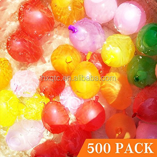 Water Balloons Refill Kit Total 500 pack for Water Sports and Party