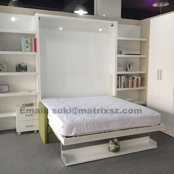 Klappbett schrankbett f r transformable platzsparende - Platzsparende badmobel ...