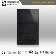 Simple Operation All Black Monocrystalline Solar Panel 250W 260w 270w 280w 290w with Low Price