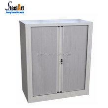 Mosern design office furniture anderson hickey file cabinet half height roller shutter door cabinet metal storage cabinet