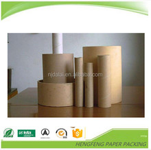 High quality paper mailing tubes with iron/plastic/paper lids