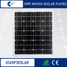 50w monocrystalline cheap solar panel