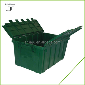 Heavy Duty 30kgs Moving Storage Nested Plastic Containers