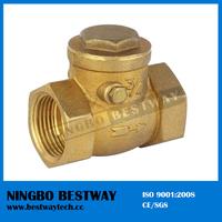 DN15 to DN100 horizontal type brass tilting disc check valve