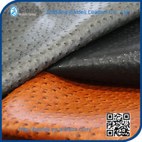chair seat cover leather upholstery fabric leather pvc pu raw leather