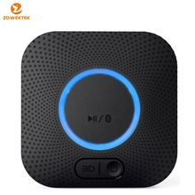 2-in-1 Bluetooth 4.0 Transmitter Receiver, Adapter with 3.5mm AUX Stereo Output for PC/TV/Home Sound System