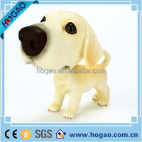 resin bobble head dog puppy