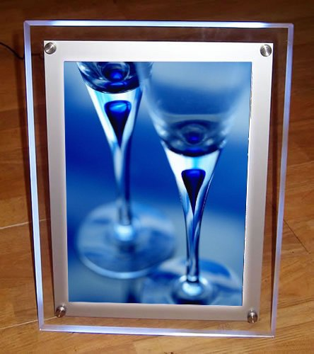 Acrylic/Perspex Ultra Slim Led Light Box