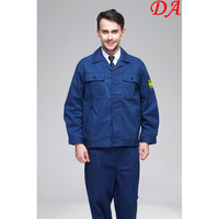 Blue Work Uniform Driver New Worker