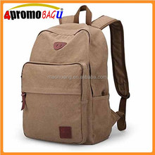 Canvas Laptop Computer Backpack Daypack Travel Backpack College Bookbags Canvas backpack