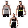 2016 new arrival high quality 100% cotton Y bodybuilding tank top men