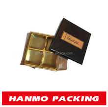 accept oem design high end two piece box with leather lid wholesale
