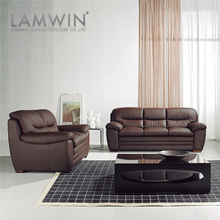 Elegant designs leather sofa set 3 2 1 seat,genuine leather sofa set living room furniture