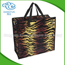 China Goods Wholesale Laminated Polypropylene Tote Bag And PP Woven Shopping Bag