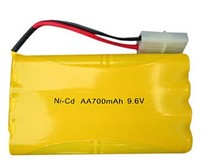 Ni-CD 9.6V AA size Battery 700mAh high capacity industrial pack cell