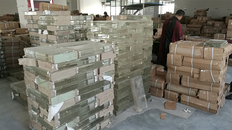 CHINA Crystal Industrial Base Factory Direct K9 Crystal jewelry making Raw Material Glass Brick