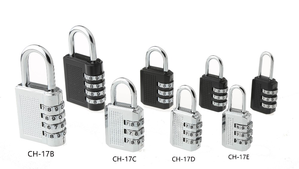 CH-17B 4 digitals High security cabinet code lock