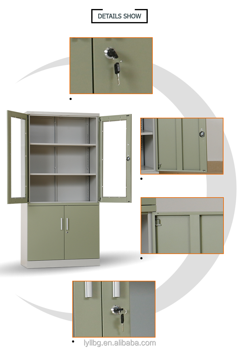 4 Door Locking Metal Storage Cabinet For Document Achive