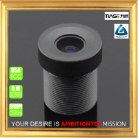 Hot sale 6mm 1/2.5 inch cmos sensor F1.8 3megapixel used in elevator camera mini size lR lens