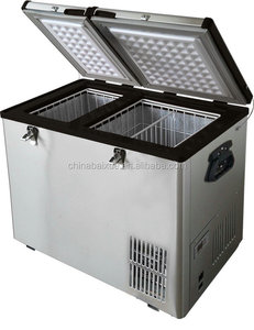 DC COMPRESSOR FREEZER, SOLAR FRIDGE, SOLAR REFRIGERATOR & SOLAR CAR FRIDGE,75L